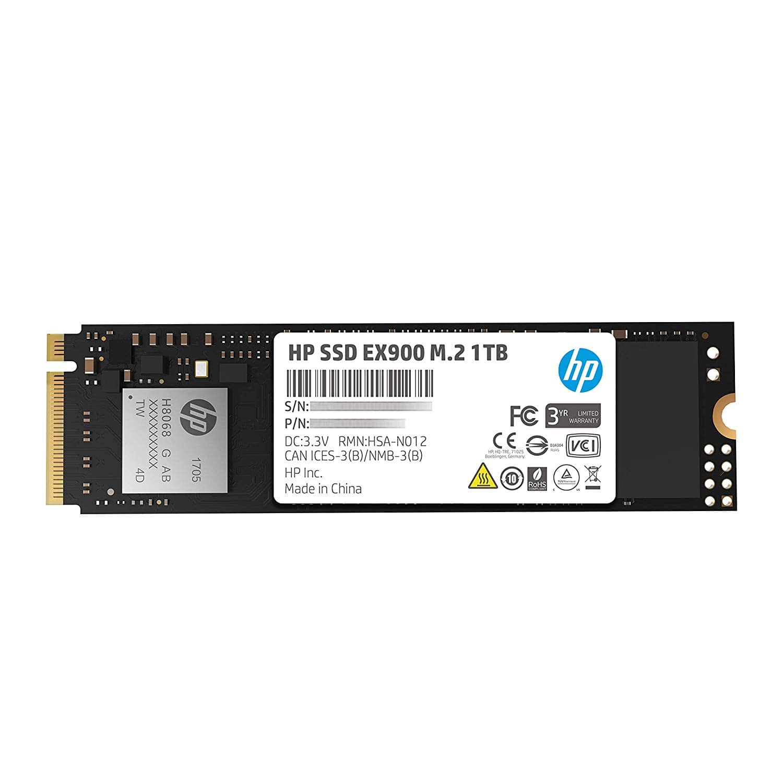 1TB HP EX900 M.2 PCIe 3.1 x4 NVMe 3D TLC NAND Internal Solid State Drive $139.99 w/ Free Shipping