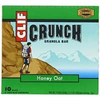 Amazon Deal: 10-Count Clif Crunch Granola Bars: Peanut Butter, Honey Oat: $3.03 + Free Shipping with S&S @ Amazon