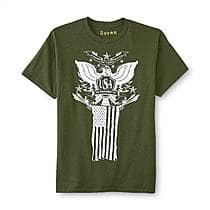 20%+ off clothing (e.g., 25 styles Men's Patriotic Graphic T-Shirt each $3.99) + Free Store Pickup @ Sears