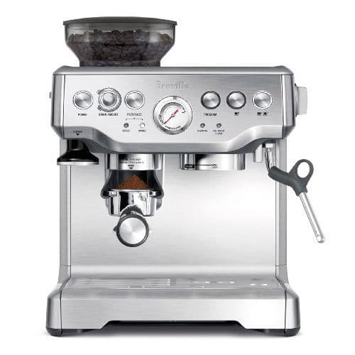 Breville BES870XL The Barista Express Coffee Machine $460 silver or red