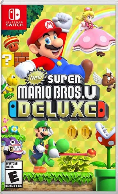 Super Mario Bros U Deluxe for Nintendo Switch on Facebook Marketplace Daily Steals