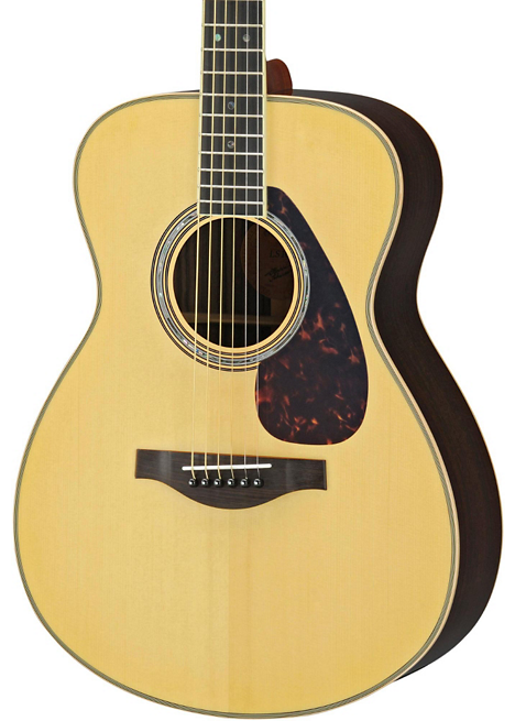 Yamaha LS16R L Series Solid Rosewood/Spruce Concert Acoustic-Electric Guitar Natural $449.99