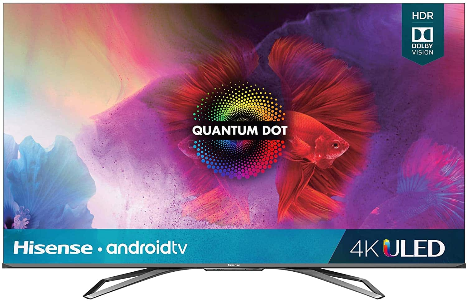 Amazon.com: Hisense 55-Inch Class H9 Quantum Series Android 4K ULED Smart TV with Hand-Free Voice Control (55H9G, 2020 Model): Electronics $649.99