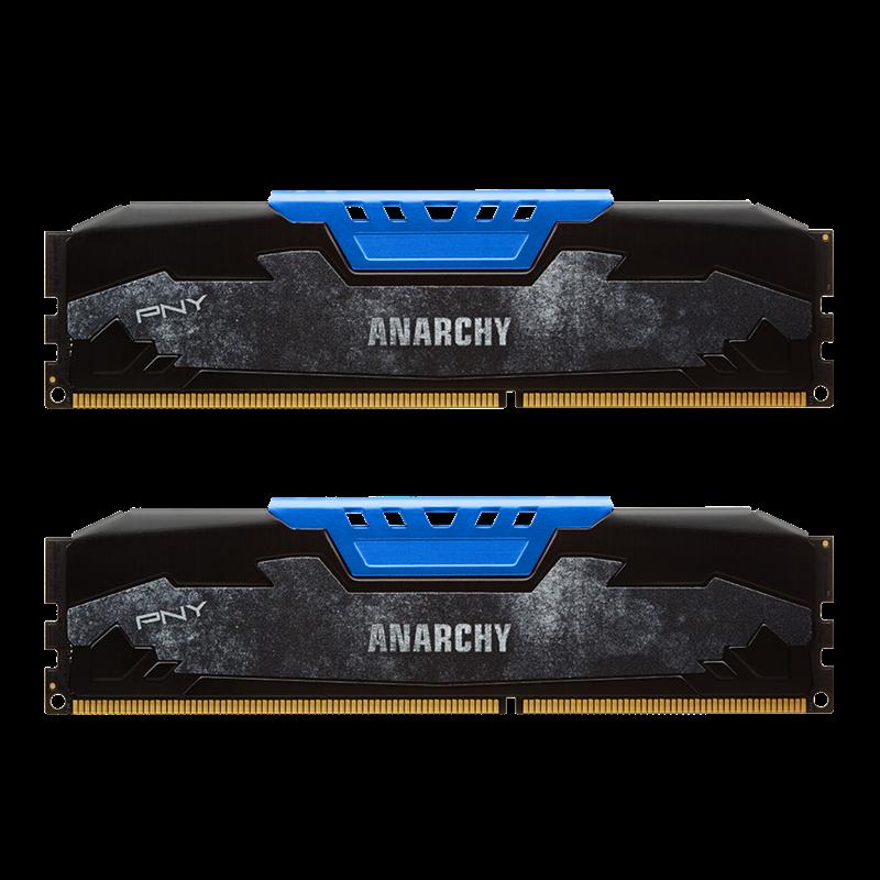 PNY Anarchy 16GB (2 x 8GB) DDR4-2400 Memory $139.99 + Shipping