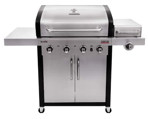 Char-Broil Signature grill - 20% off and free shipping after online Chat YMMV $399