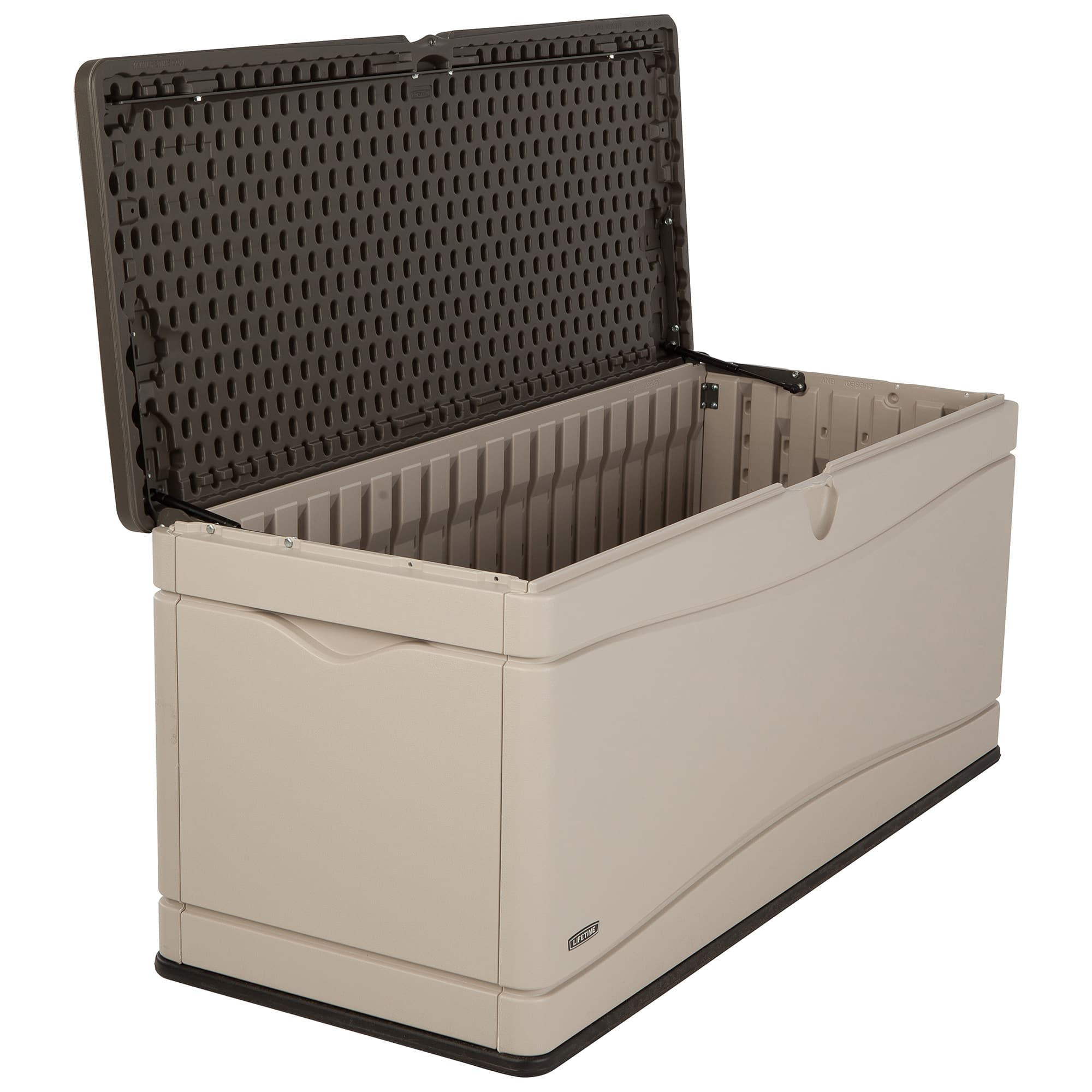 Lifetime 60012 Extra Large 130 Gallon Deck Box $120.95 HD and Amazon