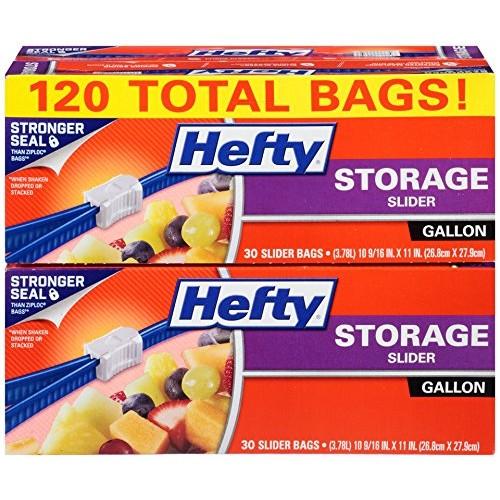 30% OFF - Hefty Slider Storage Bags - Amazon Alexa Deals - $10.49
