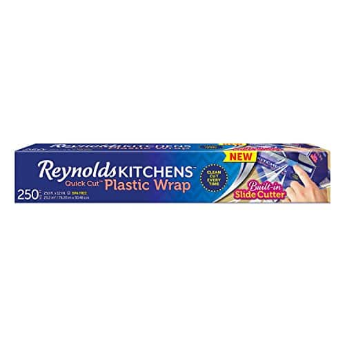 Amazon offering 20% OFF coupon on  Reynolds Plastic Wrap (250 Square Foot Roll) $3.19