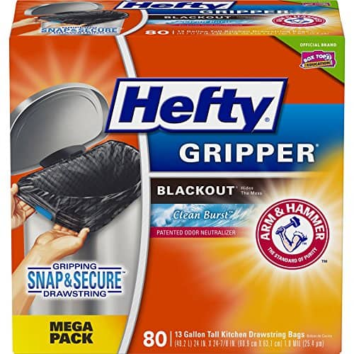 Amazon offering 15% OFF coupon on Hefty Trash Bags! $6.37