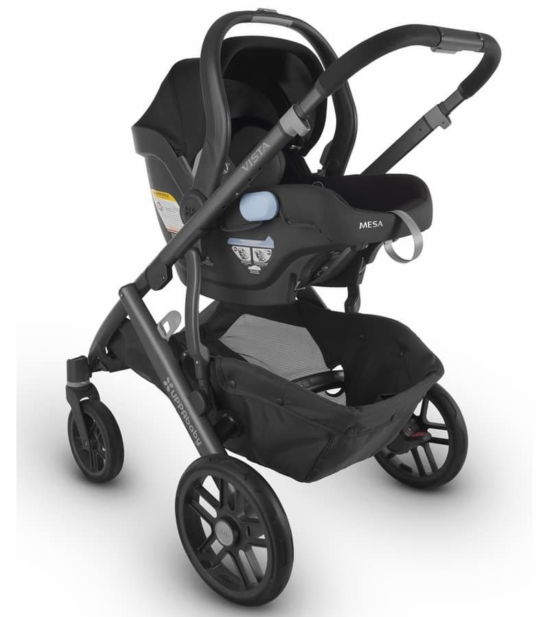 UPPA MESA Infant Car Seat + 2017 VISTA Stroller $911 + Free Ship no tax outside NY