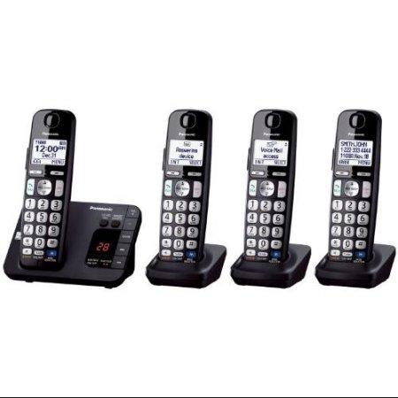 Panasonic KX-TGE234 Cordless Phone (4 handset) Clearance @Walmart YMMV $25