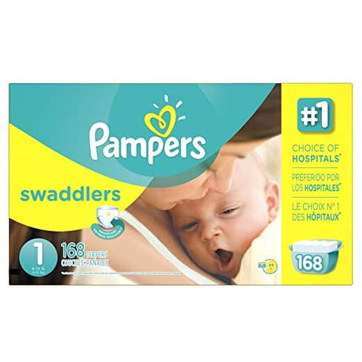 Amazon Family: 40% off Pampers Swaddlers Diapers with S&S - YMMV