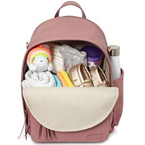 Skip Hop Diaper Vegan Leather Backpack for $34