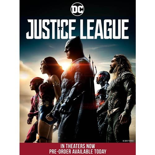 Justice League 4K Ultra HD Digital $29.99 at Amazon