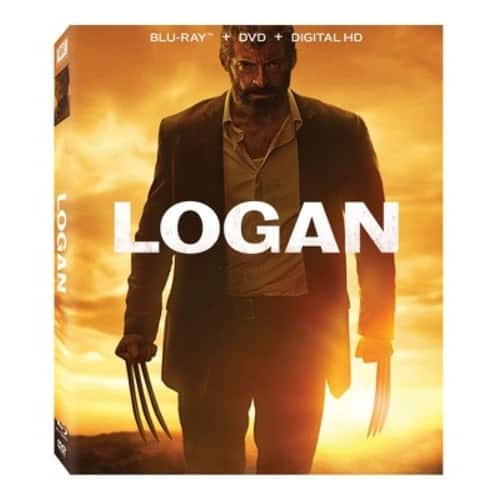 Logan (Blu-ray + DVD + Digital) $10