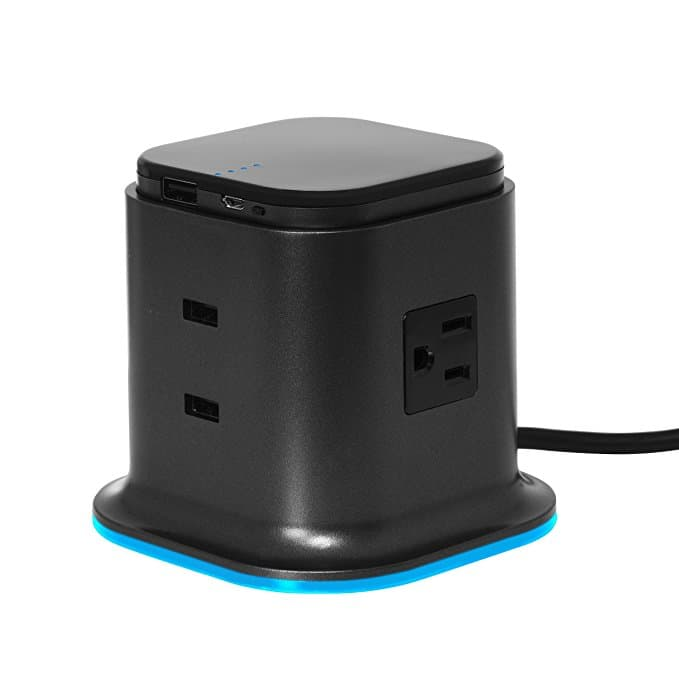 Hybrid Tower Charging Station With AC Outlet And USB Charge for $14.99 + Free Shipping