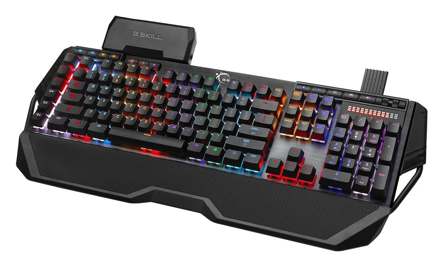 G.SKILL RIPJAWS KM780 RGB On-the-Fly Macro Mechanical Gaming Keyboard, Cherry MX Red  $97.53 + Free Shipping