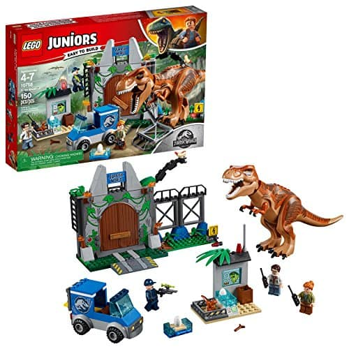 LEGO Juniors T. rex Breakout 10758 Building Kit 150 pieces $41.88 + FS