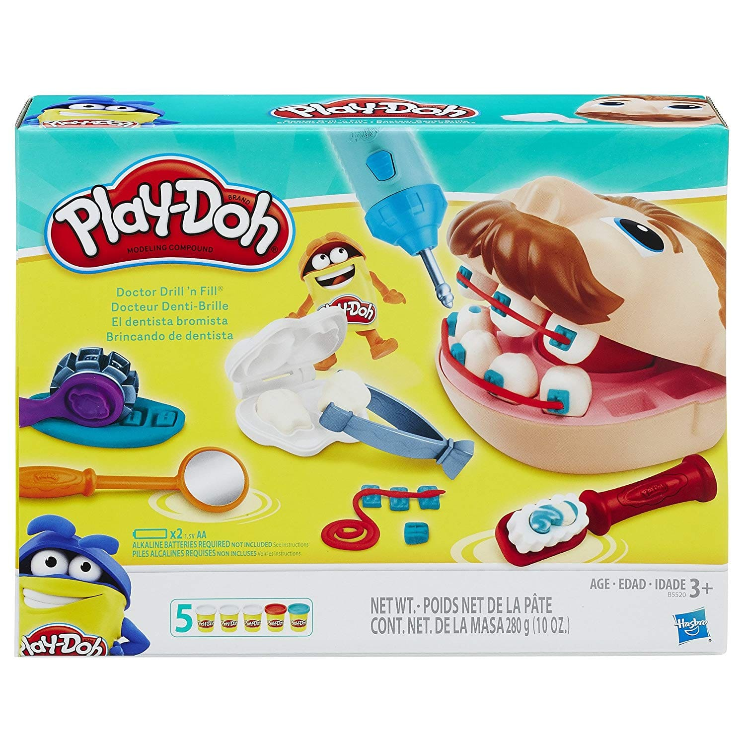 Add-on Item: Play-Doh Doctor Drill 'n Fill Retro Pack $7.26 @Amazon