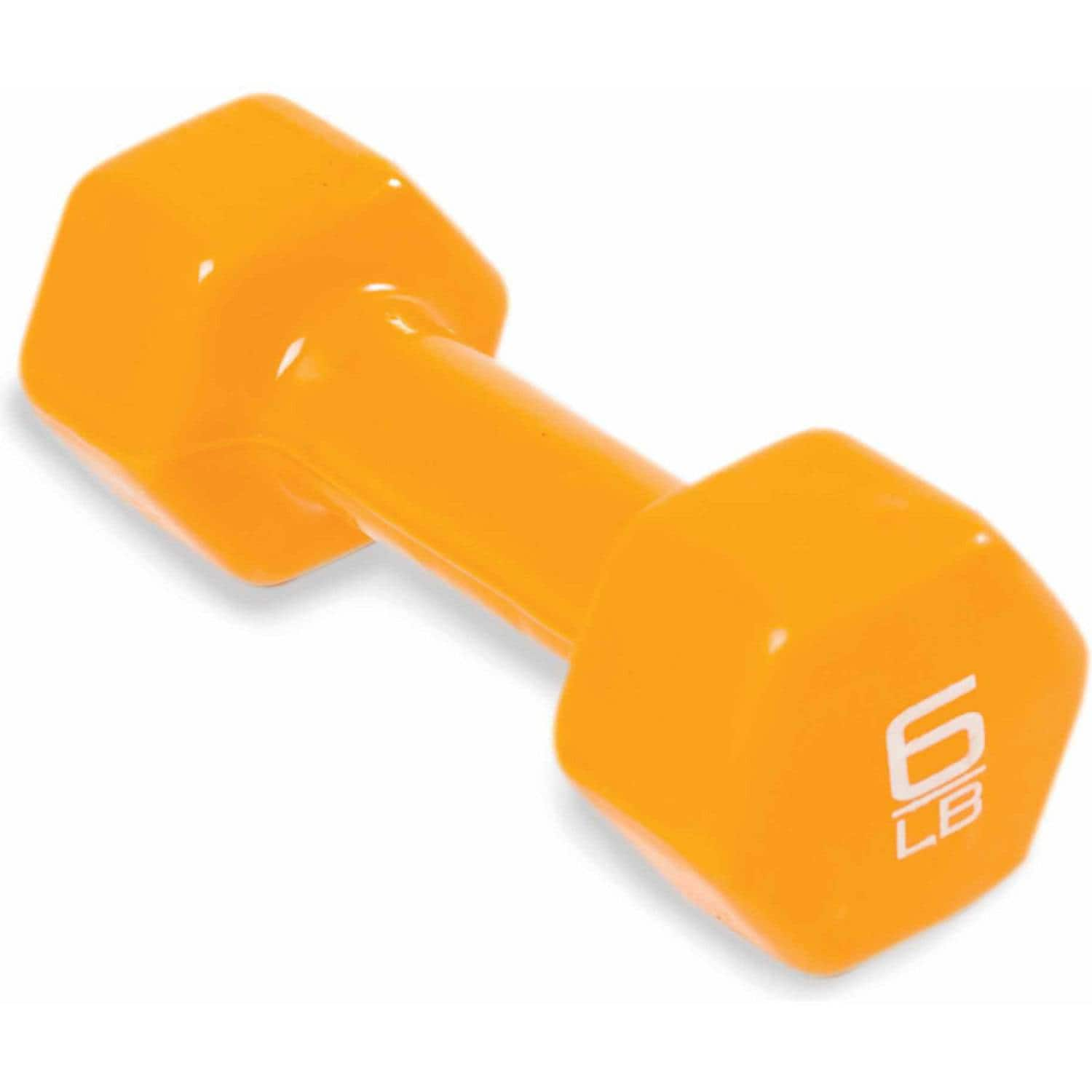 Add-on Item: 6-Pound CAP Barbell Vinyl Coated Single Dumbbell for $4.50