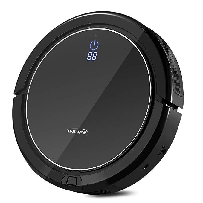 Self Charging Robotic Vacuum Cleaner $119 @Amazon