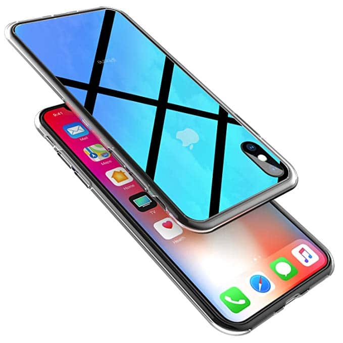 Ztotop Slim Fit Gradient Color Case with Anti-Drop Hard Back for iPhone Xs/X $3.99 + FSSS