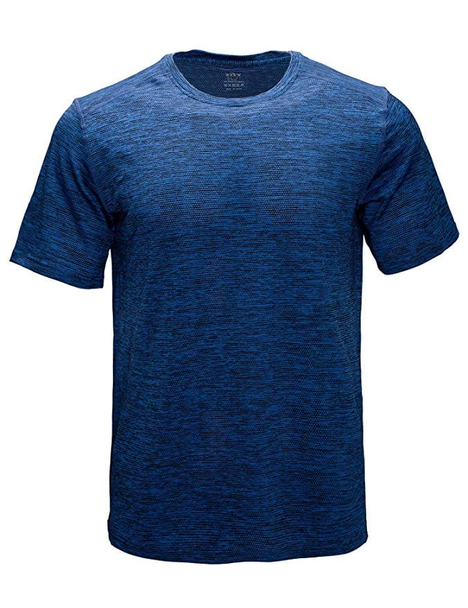 Men's Athletic Dry Fit Short Sleeve T-Shirts (Various colors and sizes) from $10.33 + Free Prime Shipping