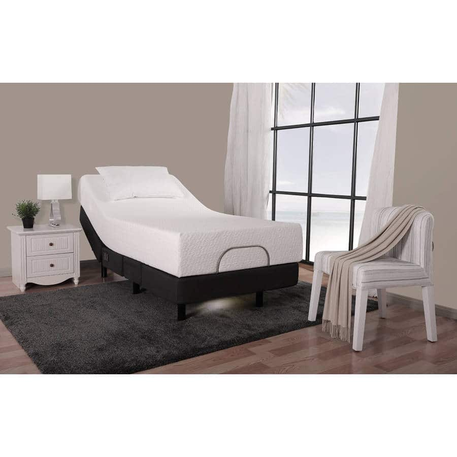 """Better Homes and Gardens 13"""" Adjustable Steel Premier Bed Frame,  Twin XL for $300.00 @Walmart"""