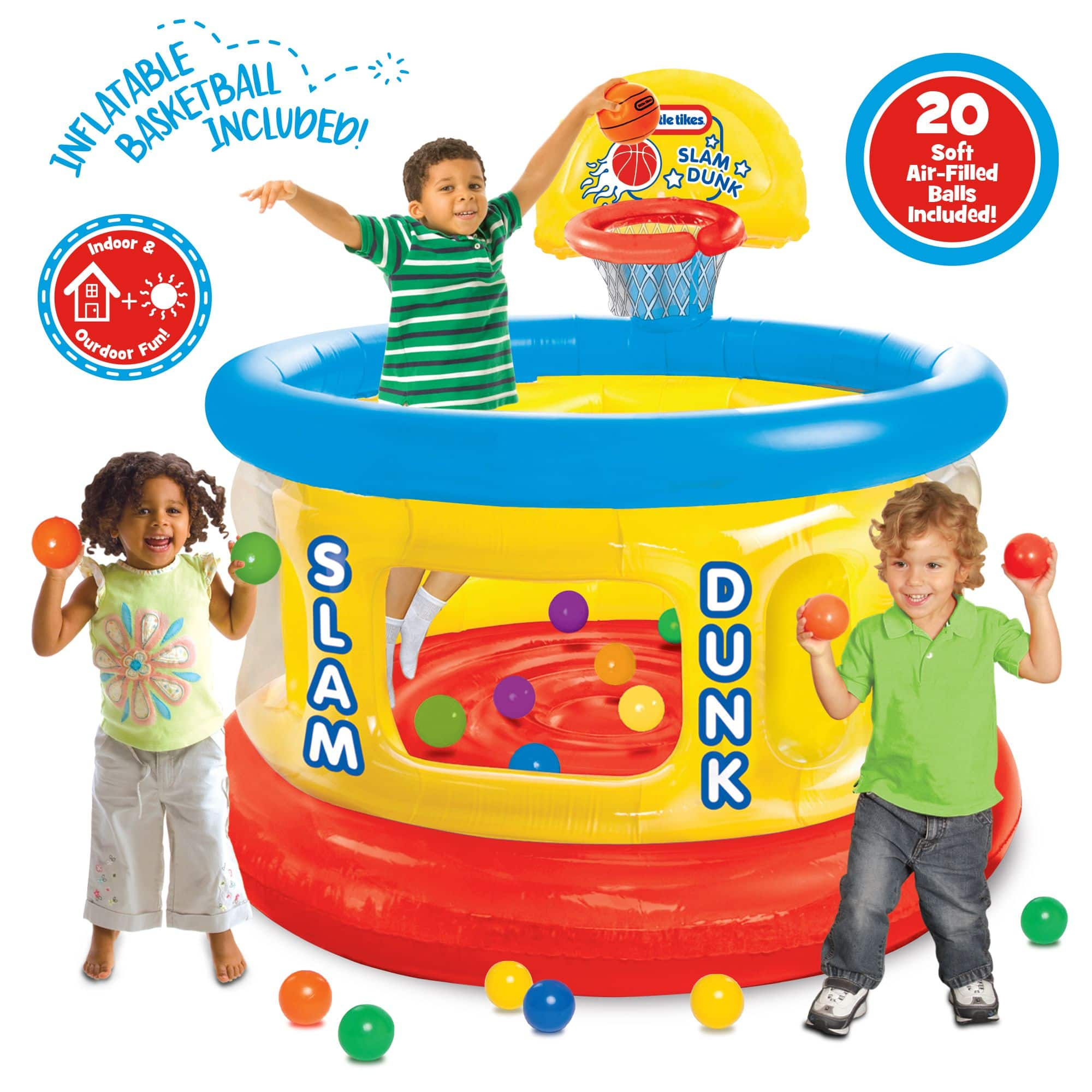 Little Tikes Slam Dunk Inflatable Big Ball Pit $34.99 at Walmart