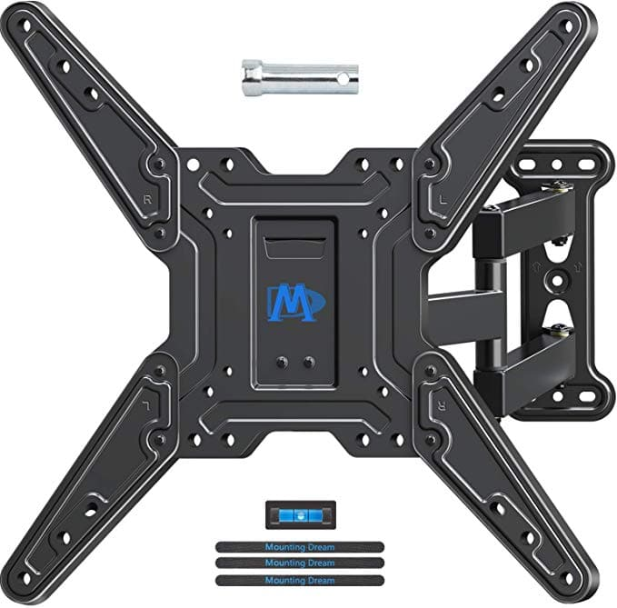 """Mounting Dream Full Motion TV Wall Mount with Swivel Articulating Arm for 26-55"""" TVs - $22.49"""