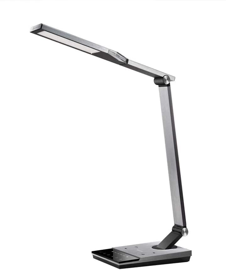 TaoTronics Stylish Metal LED Desk Lamp with Fast Wireless Charger $49.99 + FS