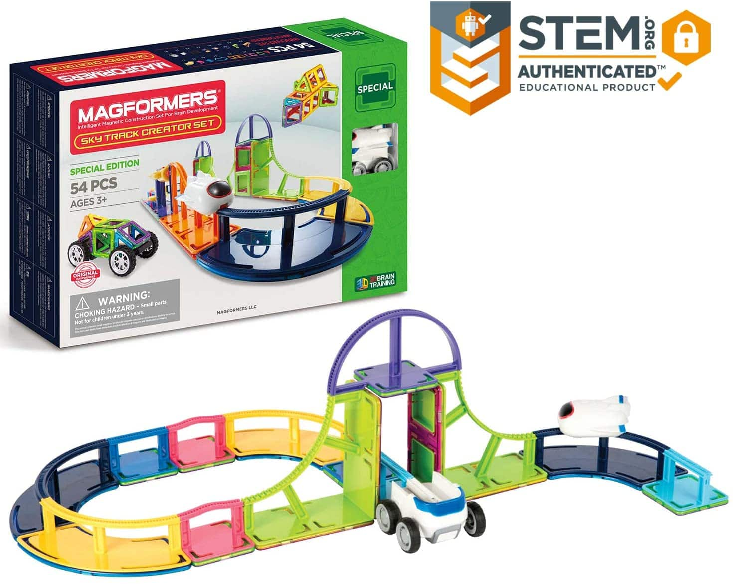 54pc Magformers Sky Track Set $35.80 + Free Shipping