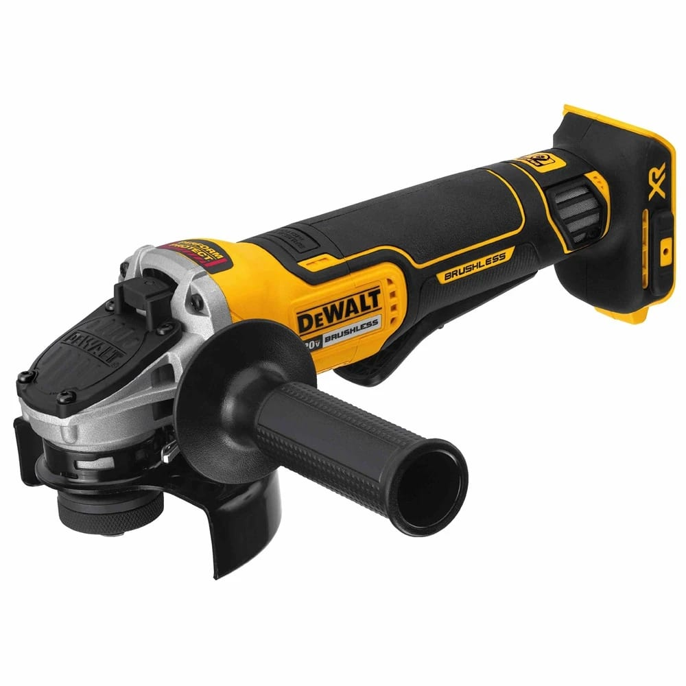 "DeWalt DCG413B 4.5"" 20V MAX XR Small Angle Grinder With Paddle Switch And Kickback Brake $124.99"