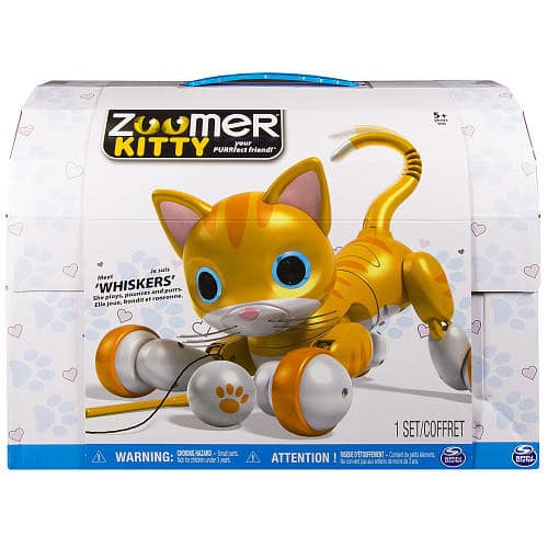 Zoomer Kitty - Whiskers The Orange Tabby -$49.98+tx Toys R Us