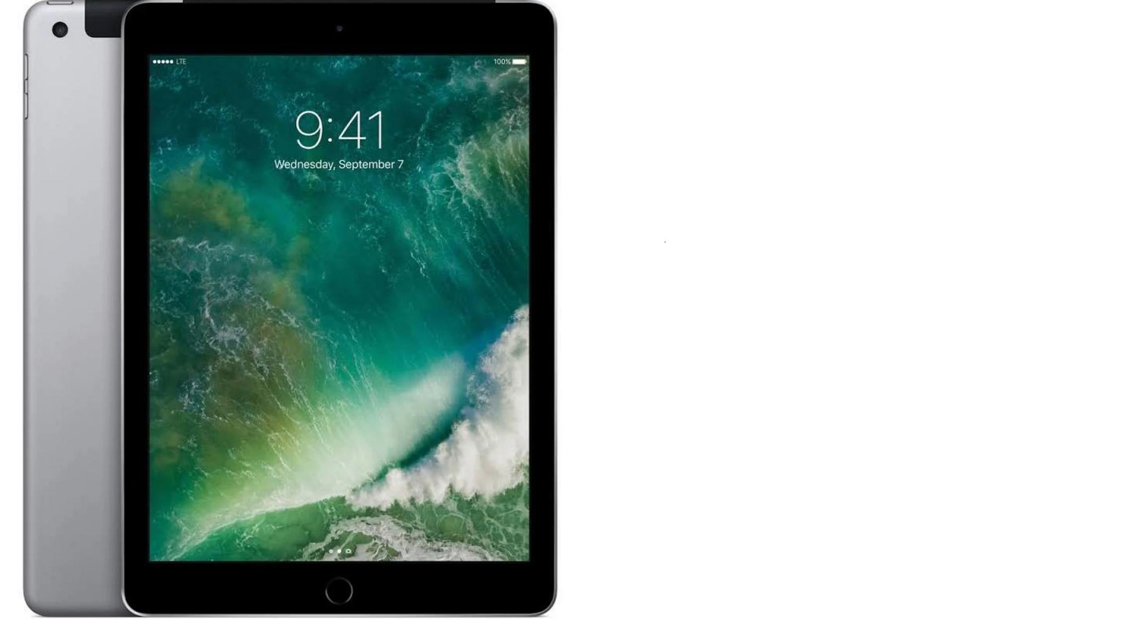 Apple iPad - Wi-Fi - 32 GB Space Gray (2017) YYMV $200
