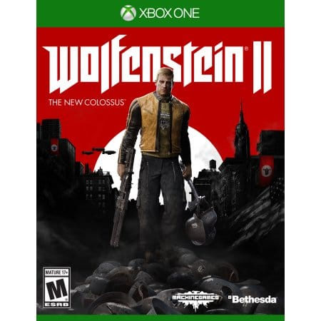 Wolfenstein II: The New Colossus Xbox One and PS4 $39.82