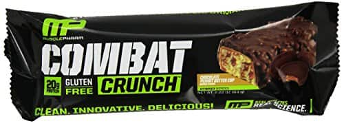 Muscle Pharm Combat Crunch Bars- 3 boxes for $38.72