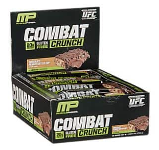 Protein Bars - MusclePharm Combat Crunch Clearance BOGO ($20.22 for 2 boxes - 24 bars)