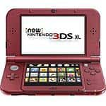 Fry's AND frys.com NEW Nintendo 3ds XL (new SKU) red or black - $159.99 all week until 10/10, call to get ONLINE promo code