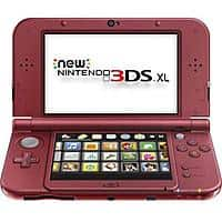 Frys Deal: Fry's AND frys.com NEW Nintendo 3ds XL (new SKU) red or black - $159.99 all week until 10/10, call to get ONLINE promo code