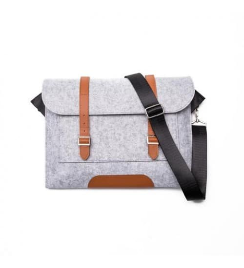$11 Messenger Laptop Bag Faux Leather f/s after coupon FIRST25 $11.24