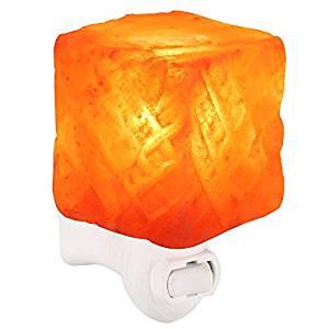 BESWILL Himalayan Salt Lamp Hand Carved $9.87