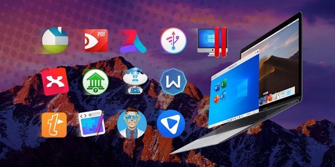 Mac & Windows Bundle, 2 VPNs, Parallels, Aurora HDR, Windscribe, TextExpander, RapidWeaver $36