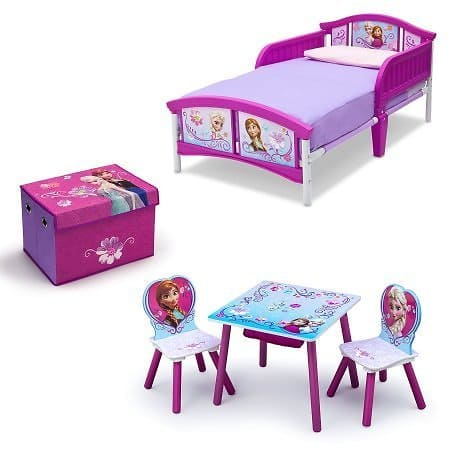 Disney Frozen Room-in a Box with BONUS Table & Chairs Set $75.00 + fs