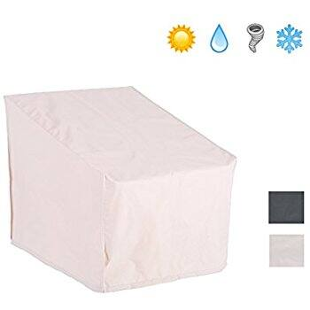 Patio Watcher Patio Chair Cover All Weather Protective, Beige $13.21+