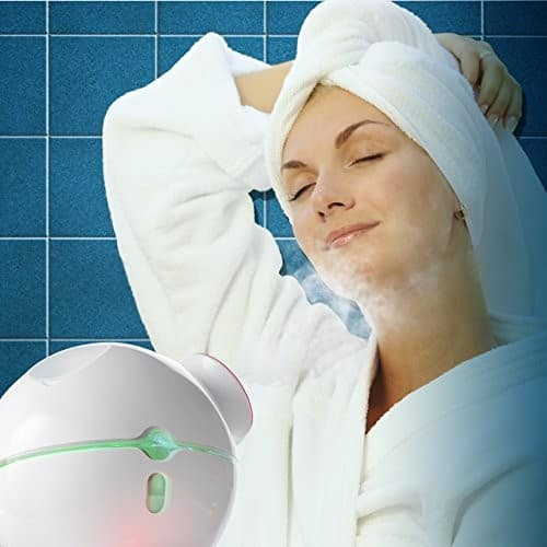 Facial Steamer with Hot and Cold Steam for Shrinking Pores - $14.99 @ Amazon