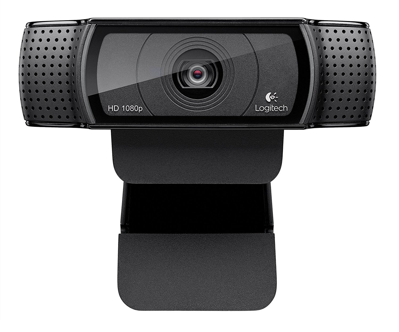 Logitech HD Pro Webcam C920, Widescreen Video Calling and Recording, 1080p Camera, Desktop or Laptop Webcam [Webcam] $46.84