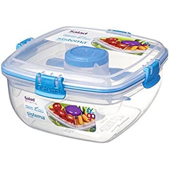 Add-on Item: Sistema To Go Collection Salad to Go Food Storage Container, 37 oz - $5.99 @Amazon