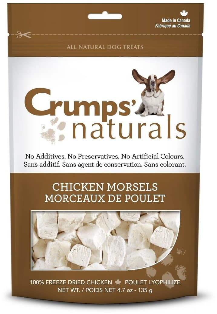 Add-on Item: Crumps' Naturals Chicken Morsels for Pets for $2.14