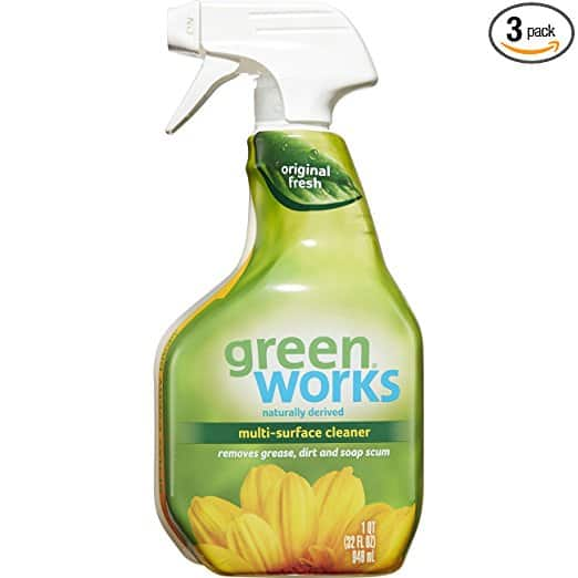 Add-on Item: Green Works Multi-Surface Cleaner, Spray Bottle, 32 Ounces (Pack of 3) for $5.86 @Amazon